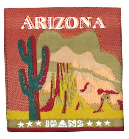 Nažehlovací etikety velké - arizona