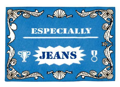 Nažehlovací etikety velké - jeans