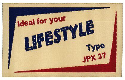 Nažehlovací etikety velké - lifestyle