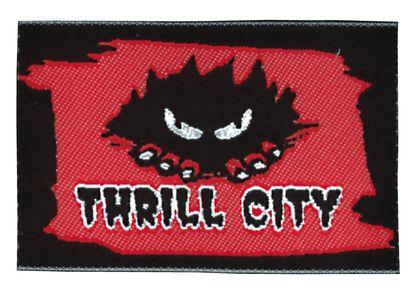 Nažehlovací etikety velké - thrill city