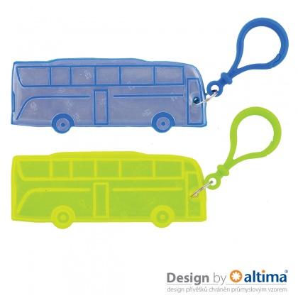 3M reflexní přívěšek - Autobus - splňuje EN13356