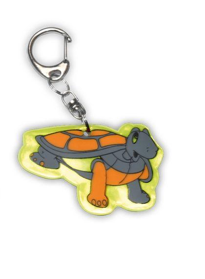Reflexní přívěšek želva