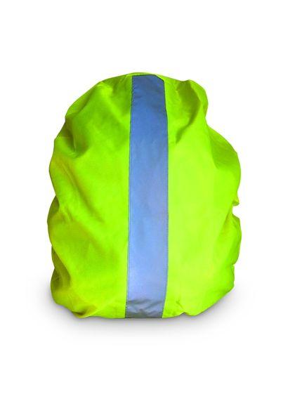 Reflexní potah na batohy žlutý - nepromokavý
