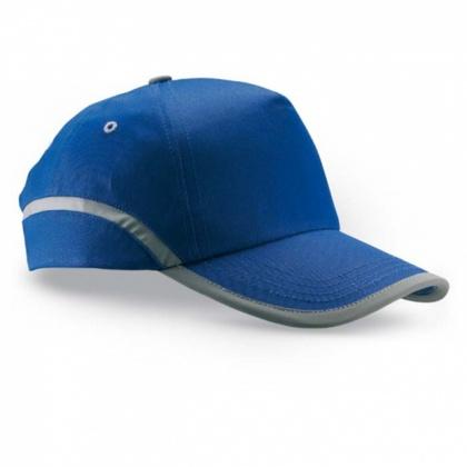 Baseballová čepice s reflexním pruhem MODRÁ