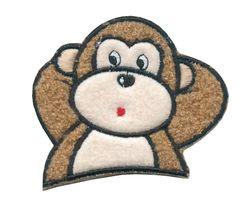 Nažehlovací aplikace velké - opička