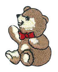 Vyšívané nažehlovací obrázky velké - medvidek