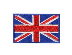 Vyšívané nažehlovací vlajky - Velká Británie
