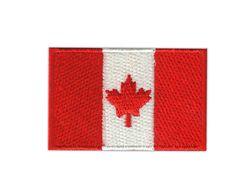 Vyšívané nažehlovací vlajky - Kanada