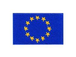 Vyšívané nažehlovací vlajky - Evropská unie