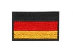 Vyšívané nažehlovací vlajky - Německo