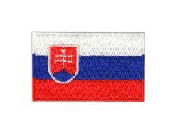 Vyšívané nažehlovací vlajky - Slovenská republika