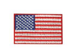 Vyšívané nažehlovací vlajky - USA