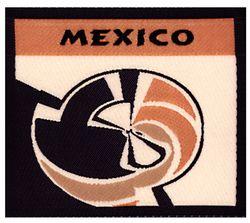 Nažehlovací etikety velké- mexico
