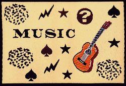 Nažehlovací etikety velké- music