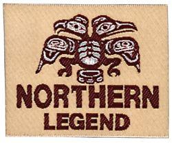 Nažehlovací etikety velké - northern legend