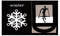Nažehlovací etikety velké - winter