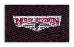 Nažehlovací etikety střední - motor devision