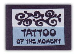Nažehlovací etikety střední - tatto of the moment