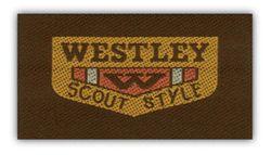 Nažehlovací etikety střední - westley