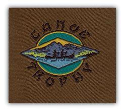 Nažehlovací etikety střední - canoe trophy