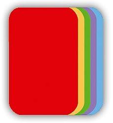 Malé nažehlovací záplaty - červená