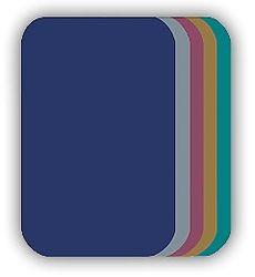 Malé nažehlovací záplaty - tmavě modrá