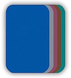 Malé nažehlovací záplaty - středně modrá