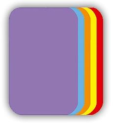 Malé nažehlovací záplaty - fialová