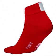 Reflexní ponožky ČERVENÉ