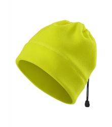 Fleecová čepice/nákrčník - žlutá