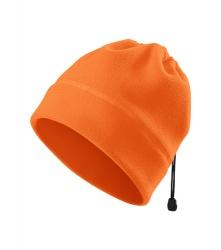 Fleecová čepice/nákrčník - oranžová