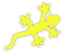Reflexní samolepka - ještěrka, balení 5ks