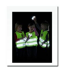 Reflexní dětská vesta včelka - splňuje EN 1150