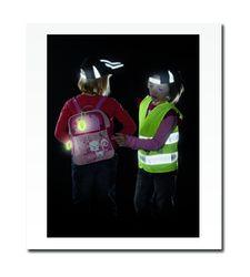 Dětská reflexní vesta s potiskem - splňuje EN 1150