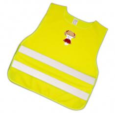 Dětská reflexní vesta s obrázkem panenky