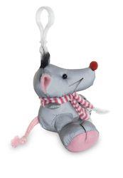 Reflexní přívěšek - myš -  splňuje evropskou normu kvality EN13356