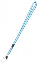 Reflexní klíčenka světle modrá