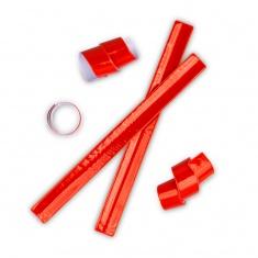 Reflexní samonavíjecí páska červená