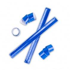 Reflexní samonavíjecí páska modrá