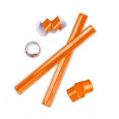 Reflexní samonavíjecí páska oranžová