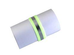 Reflexní páska na suchý zip barva žlutá