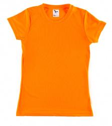 Sportovní tričko DÁMSKÉ - fluorescenční barva oranžová  XS - XL
