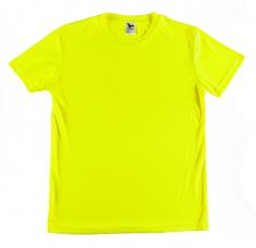 Sportovní tričko PÁNSKÉ - fluorescenční barva žlutá  XS - XXL