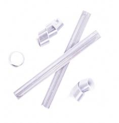 3M Reflexní samonavíjecí páska bílá  - splňuje EN 13356