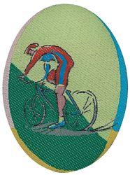 Sportovní nažehlovací etikety - cyklistika