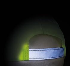 Dětská kšiltovka s reflexními prvky ŽLUTÁ