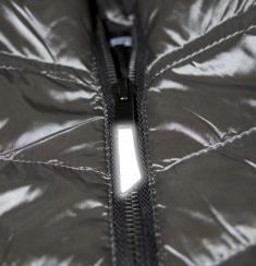 Reflexní taháček na zip